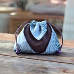 퀼트패키지 - 폴딩 주머니(블루)