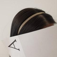 학생 얇은 골드 실버 데일리 학생 패션 H1005 머리띠