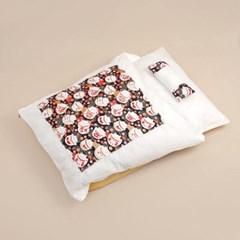캣배딩 고양이 베개+이불(65x46cm) 강아지 침낭