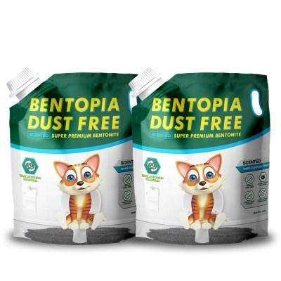 벤토피아 센티드 6.35kg x 2개 먼지없는 코튼향 모래