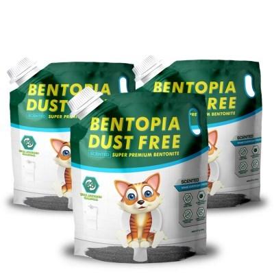 벤토피아 센티드 6.35kg x 3개 베이비파우더향 모래