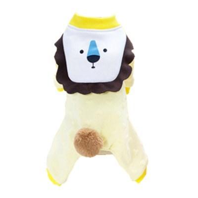 강아지 패딩 후리스 올인원 코스튬 라이어니