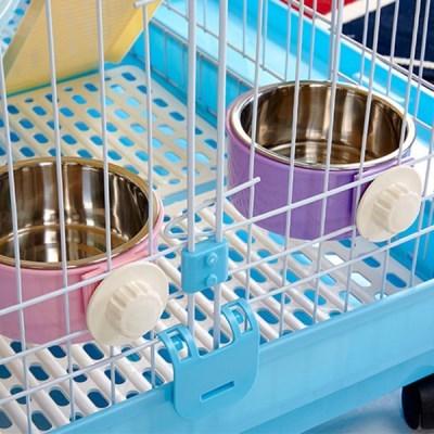 그거멍냥 강아지 밥그릇 물그릇 케이지전용 식수기 급수기 500