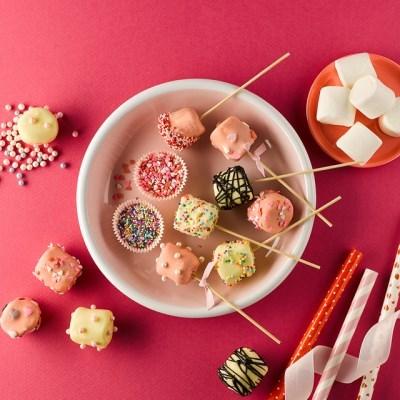 피나포레 머쉬멜로우 초콜릿 팝 만들기 DIY 홈베이킹 쿠킹박스