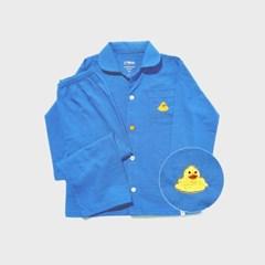 아동 스카이블루 오리잠옷세트