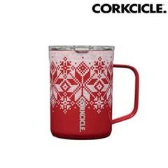 [콕시클 머그] 크리스마스 스페셜 커피 머그 보온/보냉 470ml (레드)