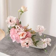 로즈플라워수반set 35cmP 조화 꽃 인테리어 FMFUFT