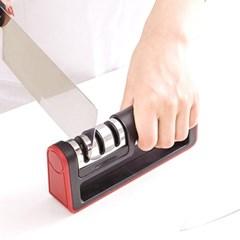 칼가는기계 3단계 안전 칼 가위 갈이 샤프너