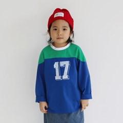 열) 17번 아동 티셔츠-주니어까지