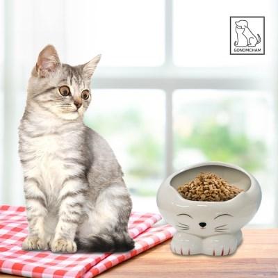 강아지 고양이 밥그릇 물그릇 애견 물통 세라믹 수반