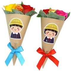 입학 사탕장미 꽃다발(5인용)