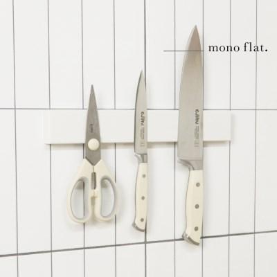 모노플랫 ctrl+v 무타공 자석칼걸이 30cm 1입 주방정리
