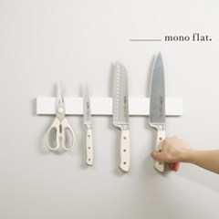 모노플랫 ctrl+v 무타공 자석칼걸이 40cm 1입 주방정리