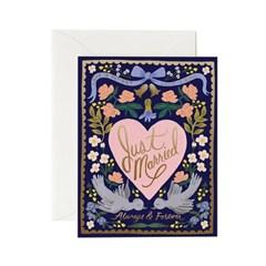 Love Birds Card 웨딩 카드