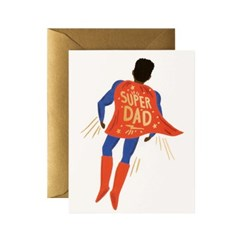 Soaring Super Dad Card 어버이날 카드