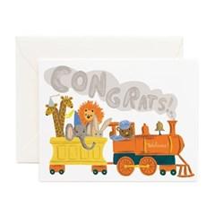 Little Engine Congrats Card 베이비 카드