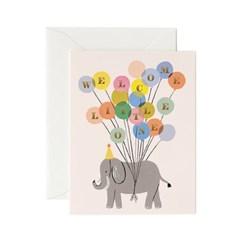 Welcome Elephant Card 베이비 카드