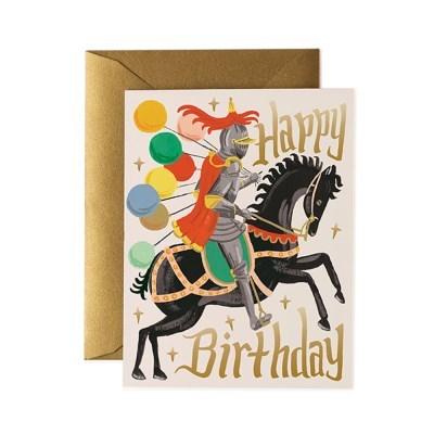 Knight Birthday Card 생일 카드