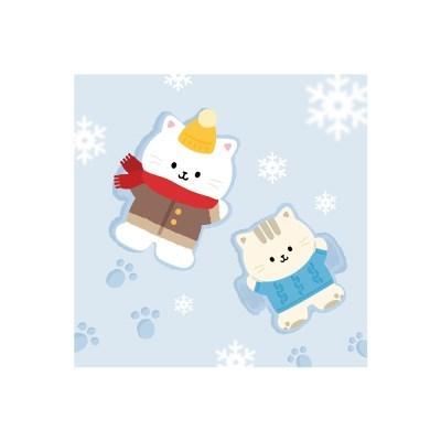 눈오는날 엽서