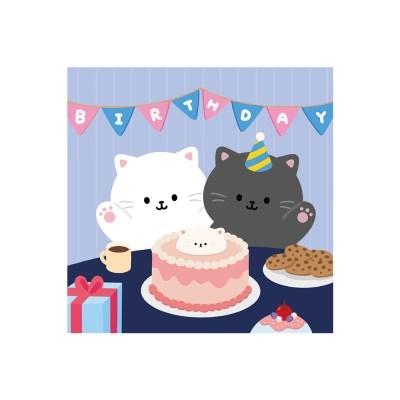 생일 엽서
