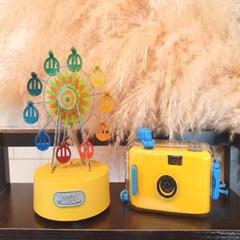 방수기능이 있는 귀여운 필름 카메라 포인트 인테리어 장식 소품
