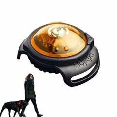 강아지 안전등 독듀얼 세이프티 라이트 옐로우