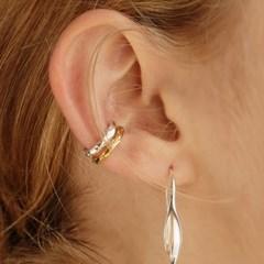 [엑소카이,이대휘착용][silver925]rough earcuff