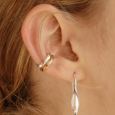 [엑소 카이,이대휘,장도연 착용][silver925]rough earcuff