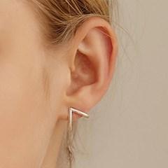 [태민,오마이걸효정,ITZY채령착용][silver925]covering up earring