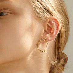 [지숙 착용]natural circle earring