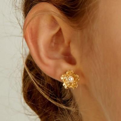 [지효,남주,민니,승희착용][silver925]elly flower earring