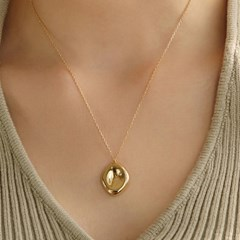 [휘인,오마이걸미미,솔라 착용]volume pendant necklace