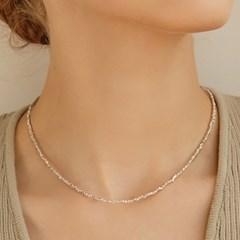 [이기광,창섭 착용][silver925]mini grain necklace