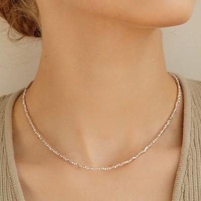 [이기광,창섭,지숙 착용][silver925]mini grain necklace