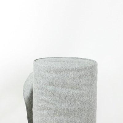 100% 대폭 메리노 펠트지 1mm_딥그레이 멜란지 (183x10cm)