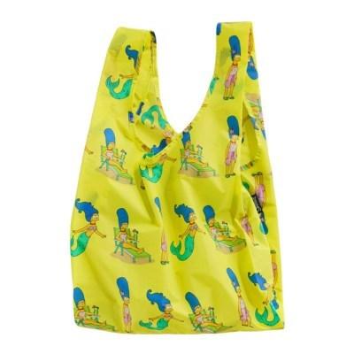 [바쿠백] 휴대용 장바구니 접이식 시장가방 심슨 에디션 Marge