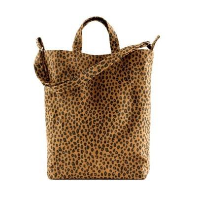 [바쿠백] 덕백 캔버스 토트백 Nutmeg Leopard_(5669391)