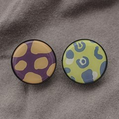 동물무늬 에폭시 3단 그립톡 (2종)