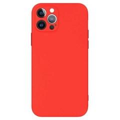 아이폰XS 컬러 슬림 포인트 커버 실리콘 케이스 P581_(3632274)