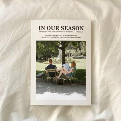 season notebook-green wind (diary)