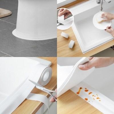 만능 욕실방수테이프 변기 화장실 주방 틈새 곰팡이 싱크대