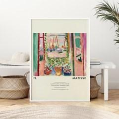 앙리마티스 그림 액자 포스터 화단