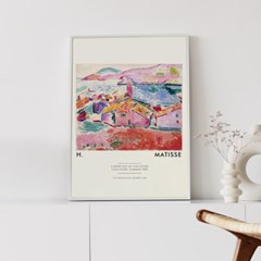 앙리마티스 그림 액자 포스터 빌리지
