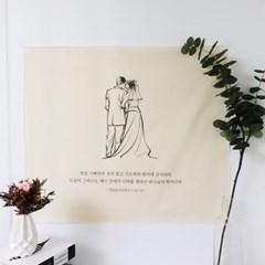 성경 말씀 성구 액자 패브릭 포스터 기독교 선물