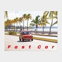 [카멜앤오아시스] Untitled 14 쿠바 빈티지카 해변 포스터