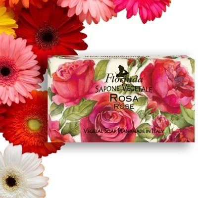 이태리 플로린다 로즈 향수비누 바디워쉬 식물성비누 100g