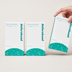 비포핸드 멀티 렌즈클리너 소독 항균 티슈 80매입 X 3박스