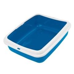 애묘 배변 모래튐 방지 반덮개 평판 화장실 세척 용이