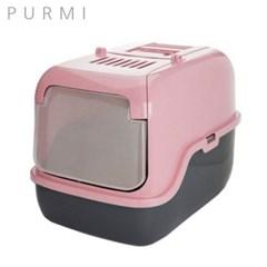 푸르미 3 Door 고양이 화장실 인디핑크
