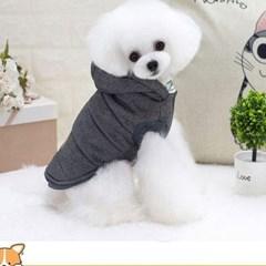 반려동물 양기모 겨울 조끼
